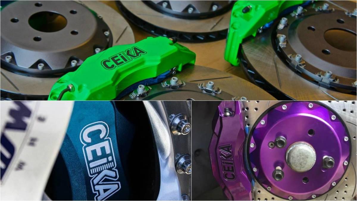 CEIKA ブレーキキット スバル SUBARU XV R2 DEX SVX R1 S4 ブレーキセット ボルトオン カスタム パーツ 新品 キャリパーセット セイカ_画像4