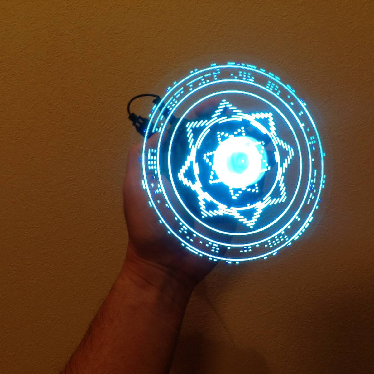 魔法陣を機械的に発現させる魔導装置 作製キット アベンジャーズ ドクターストレンジ コスプレ Bluetooth バーサライタ_画像2