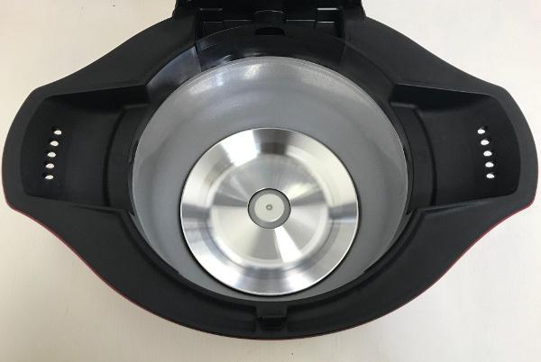 【新品未使用開封済】SHARP シャープ ヘルシオ ホットクック 水なし自動調理鍋【KN-HT24B-R】2.4L 大容量 レッド 2016年製 _画像5