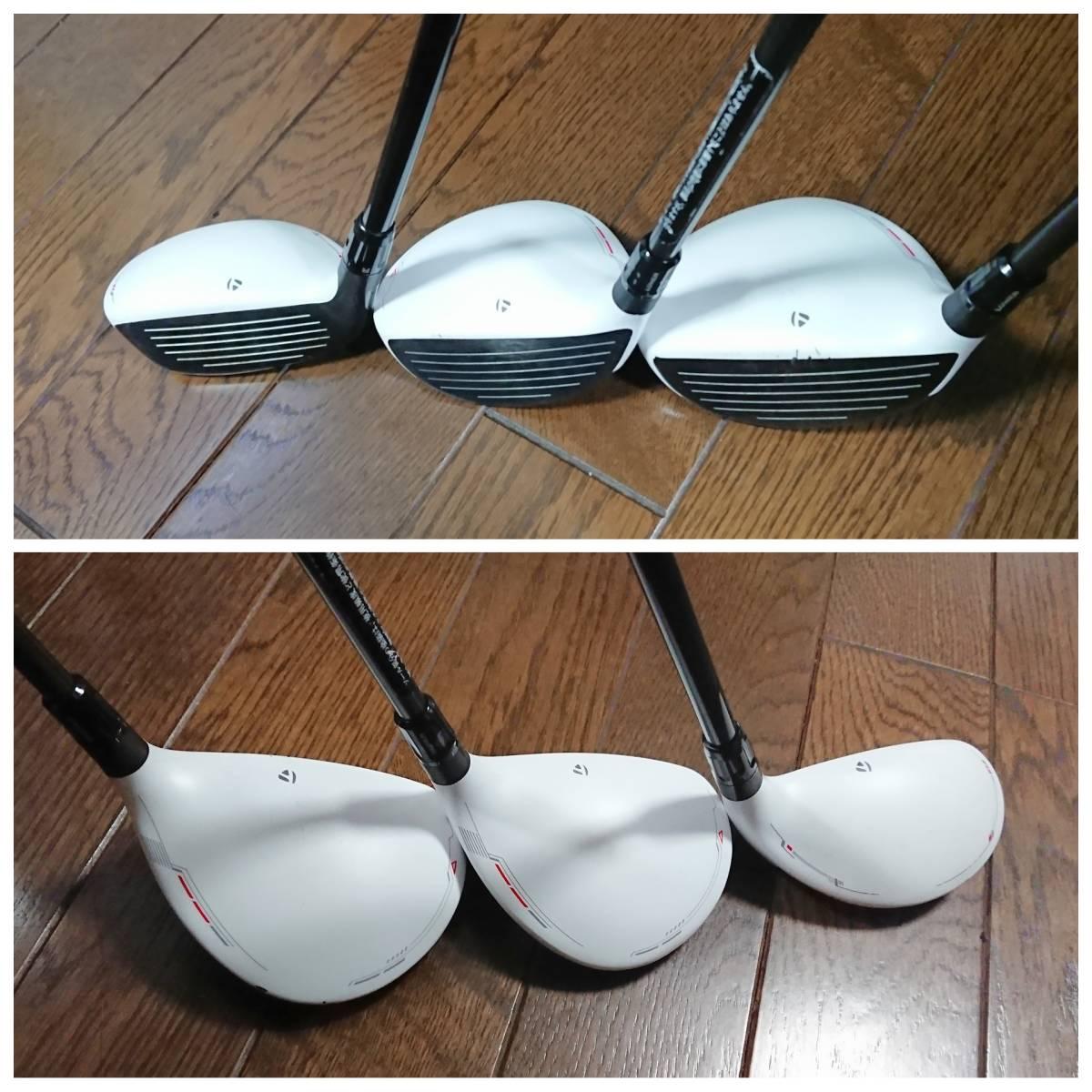 【テーラーメイド】ゴルフクラブ・フルセット(13本) 新品未使用キャディバック付き _画像7