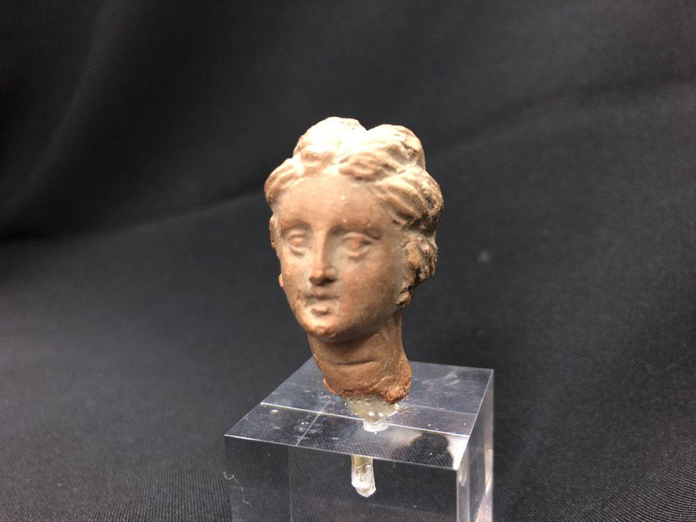 ガンダーラ 希少 ギリシャ テラコッタ女神ビーナス像_画像2