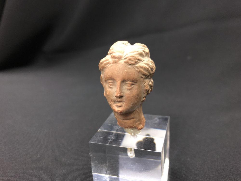 ガンダーラ 希少 ギリシャ テラコッタ女神ビーナス像