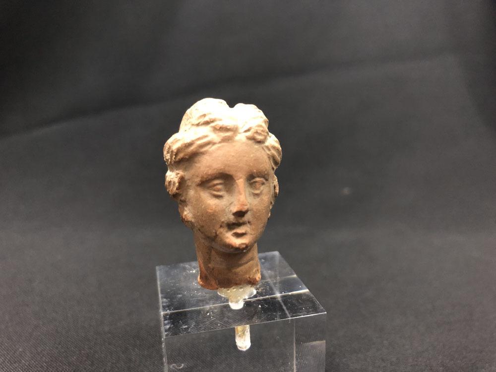 ガンダーラ 希少 ギリシャ テラコッタ女神ビーナス像_画像7