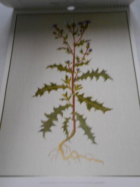 フレメの大型カレンダー 1998年 クロスステッチ図案集 ゲルダ・ベングトソン デンマーク刺繍 Gerda Bengtsson _画像3