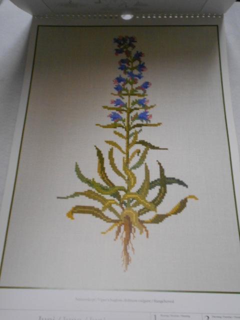 フレメの大型カレンダー 1998年 クロスステッチ図案集 ゲルダ・ベングトソン デンマーク刺繍 Gerda Bengtsson _画像4