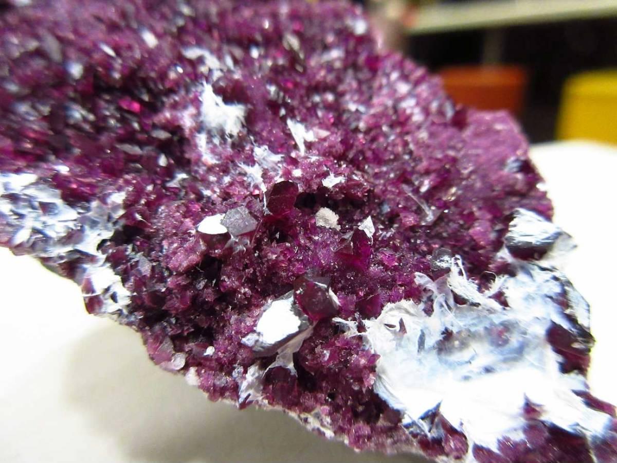 外国産鉱物標本 トルコ産 カメレライト(菫泥石)_画像5