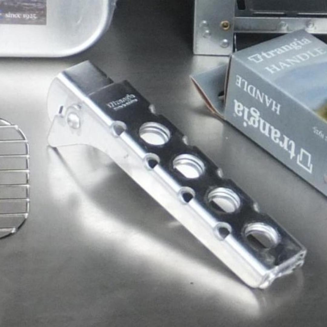 送料無 MESS TIN set trangia トランギア メスティン500210 トランギア パンハンドル エスビットポケットストーブ アミ TR-210 2_画像2