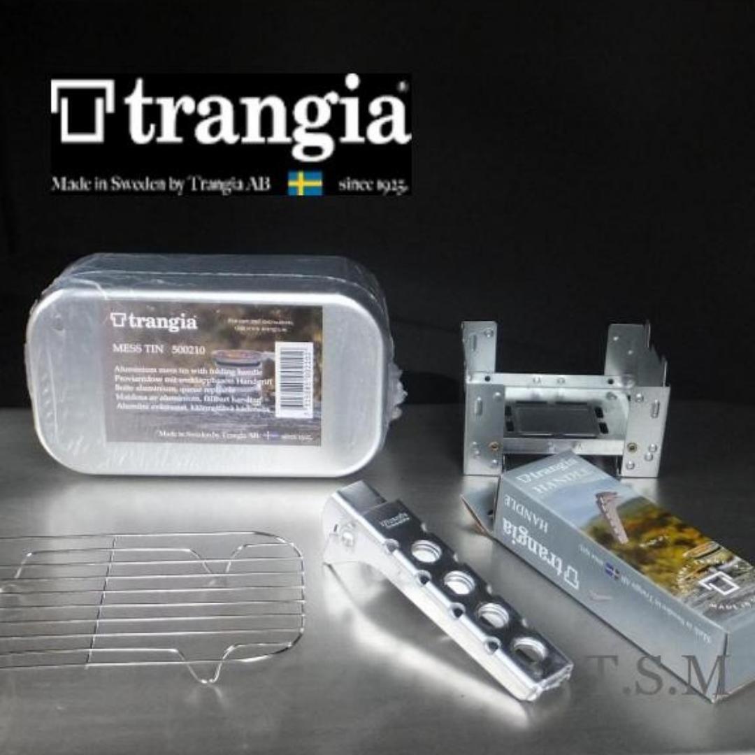 送料無 MESS TIN set trangia トランギア メスティン500210 トランギア パンハンドル エスビットポケットストーブ アミ TR-210 2