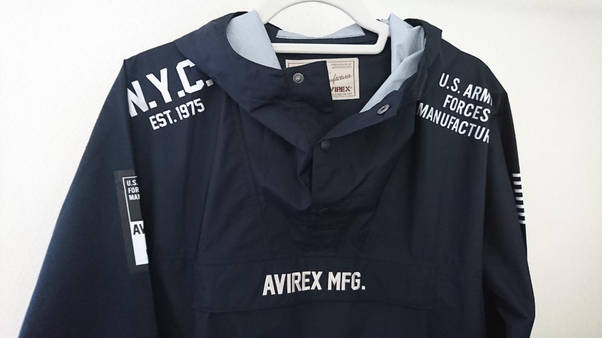 AVIREX アビレックス マウンテンパーカー ジャンパー XL_画像2