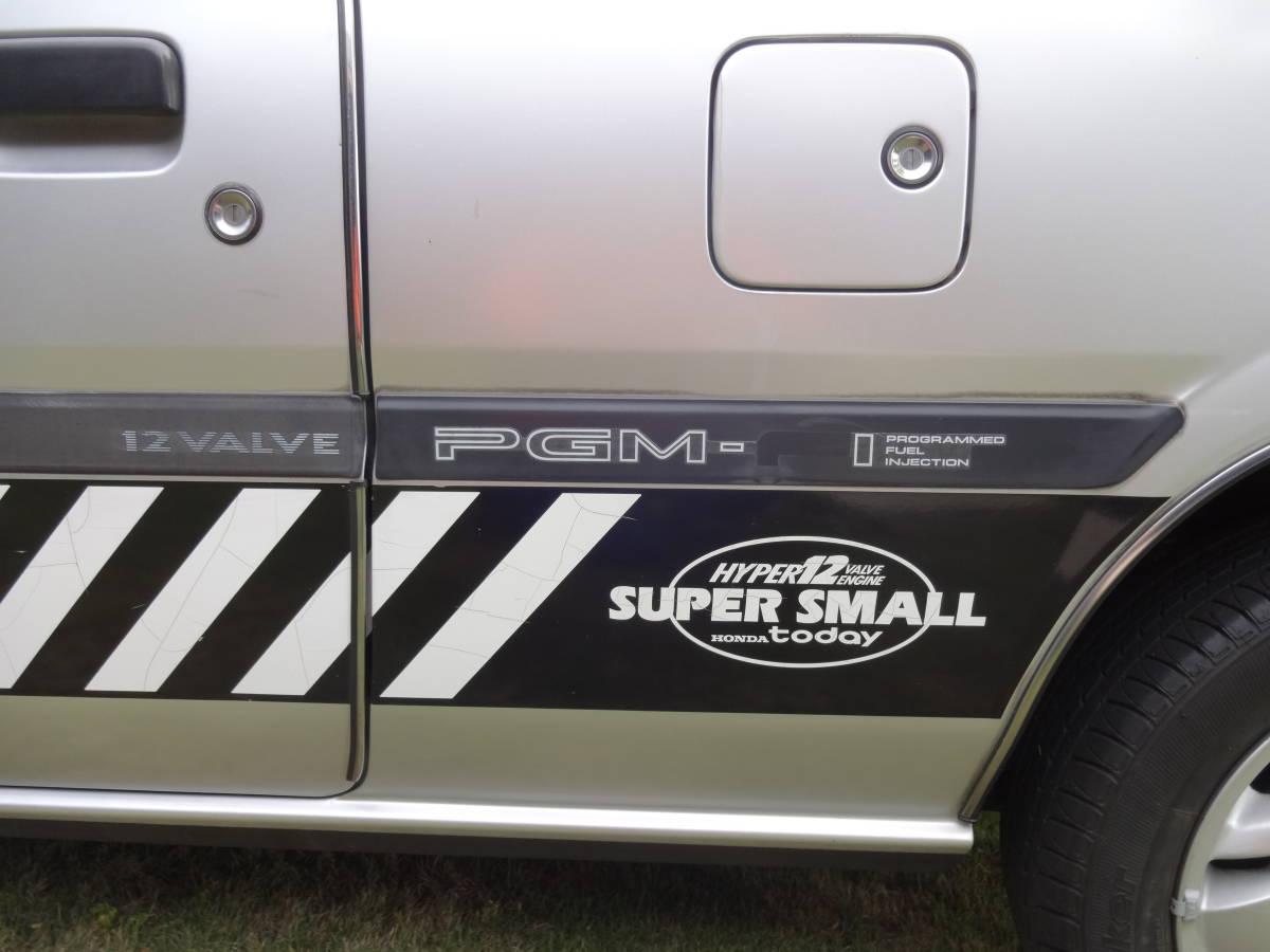 昭63年式  SUPER SMALL トゥデイ XTi  PGM-F1  5MT  走行距離64520km  車検令和3年2 月  エアコン付_画像10