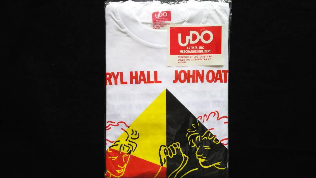 ★新品未使用★ ホール アンド オーツ・1984's ワールドツアーTシャツ Mサイズ《送料無料》_画像6
