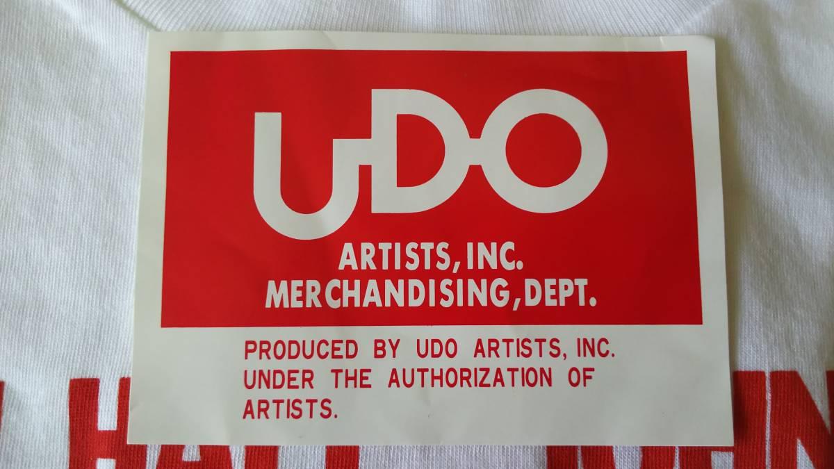 ★新品未使用★ ホール アンド オーツ・1984's ワールドツアーTシャツ Mサイズ《送料無料》_画像5