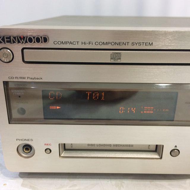★☆KENWOOD ケンウッド R-K700 CD STEREO SYSTEM☆★_画像2