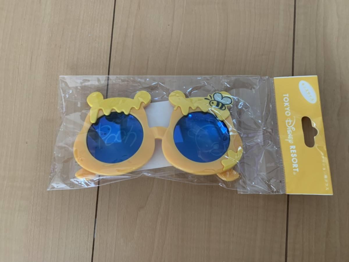 未使用★TOKYO Disney RESORT トーキョー ディズニー プーさん サングラス キッズサイズ