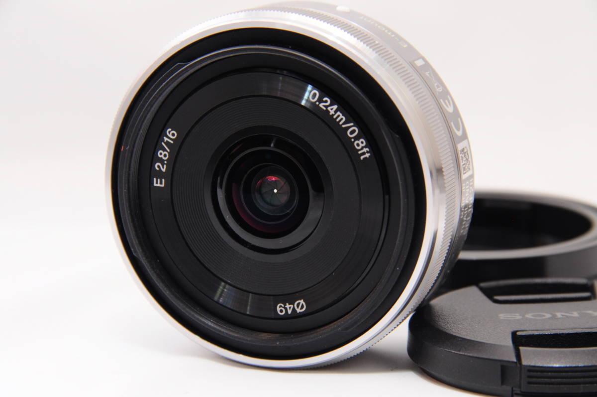 ★新品級★SONY ソニー E 16mm 2.8 SEL16F28 #19193拍卖