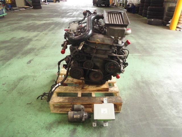 【JA22W】 ジムニー ランドベンチャー 平成8年車 K6Aターボ マニュアル車 エンジンCP付き 補記類付き 始動テストのみ オイル滲み