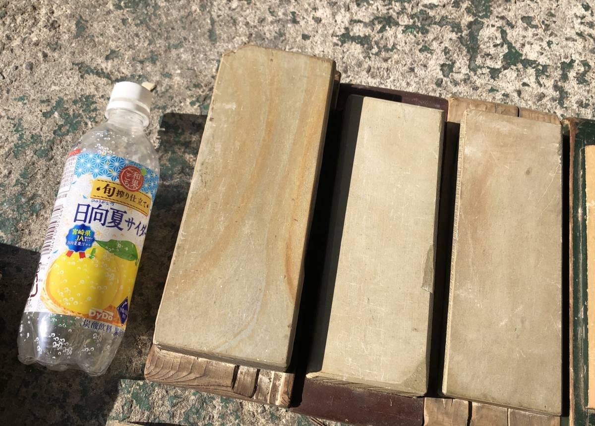 ②古い理容室 砥石 砥石台 大量セット レトロ_画像2