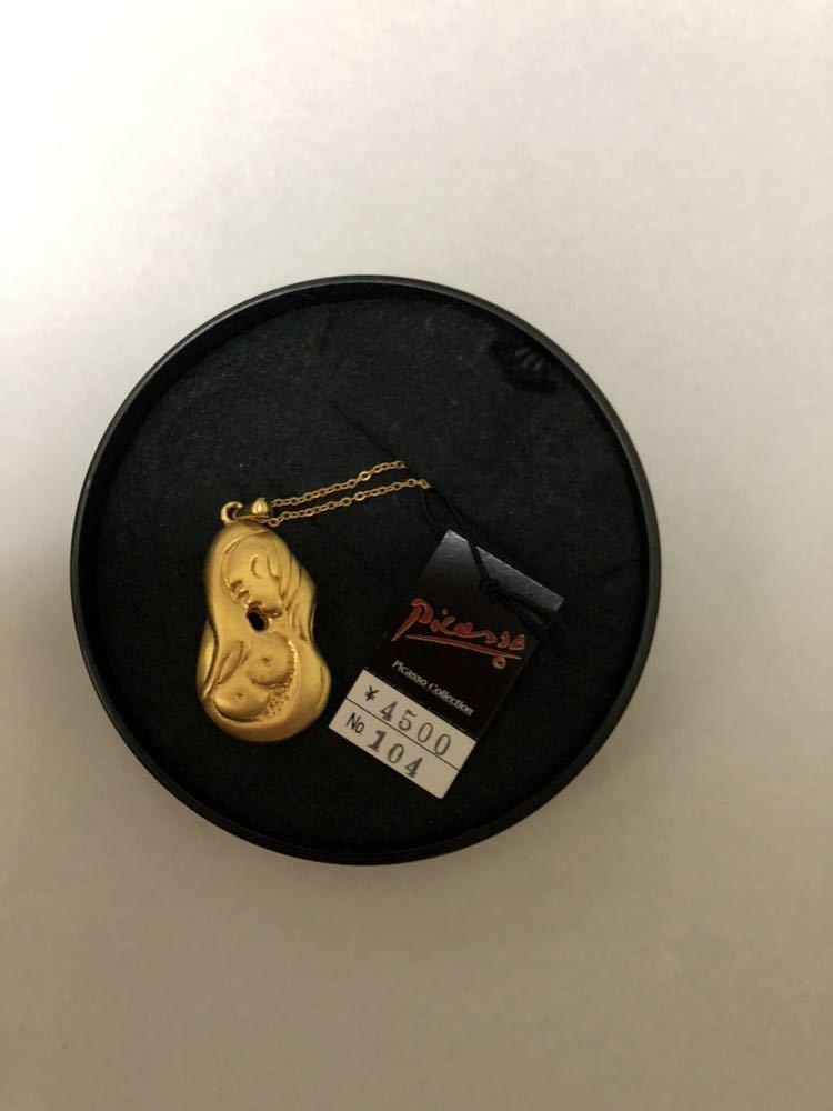(新品)ピカソ コレクション ネックレス 金 (8)アクセサリー パロマピカソ_画像1