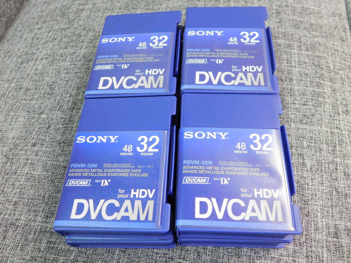 SONY PDVM-32N DVCAM/HDV/DVテープ 美品 8本セット 業務用 用品