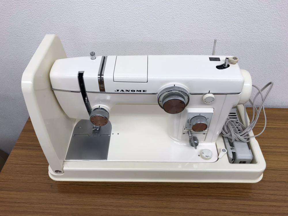 ジャノメミシン モデル 802 M20190524