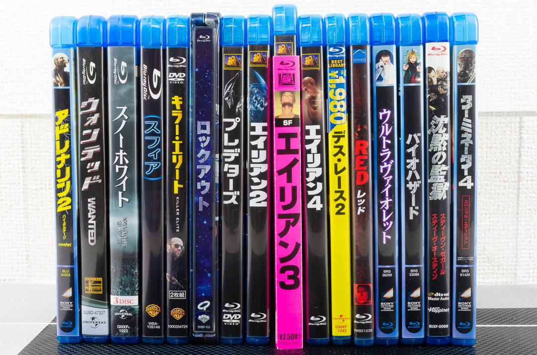 L1 洋画 ブルーレイ 31枚セット まとめ売り ほぼ未使用 Blu-ray ブラックホークダウン エイリアン スパイダーマン ターミネーター 他 大量_画像3