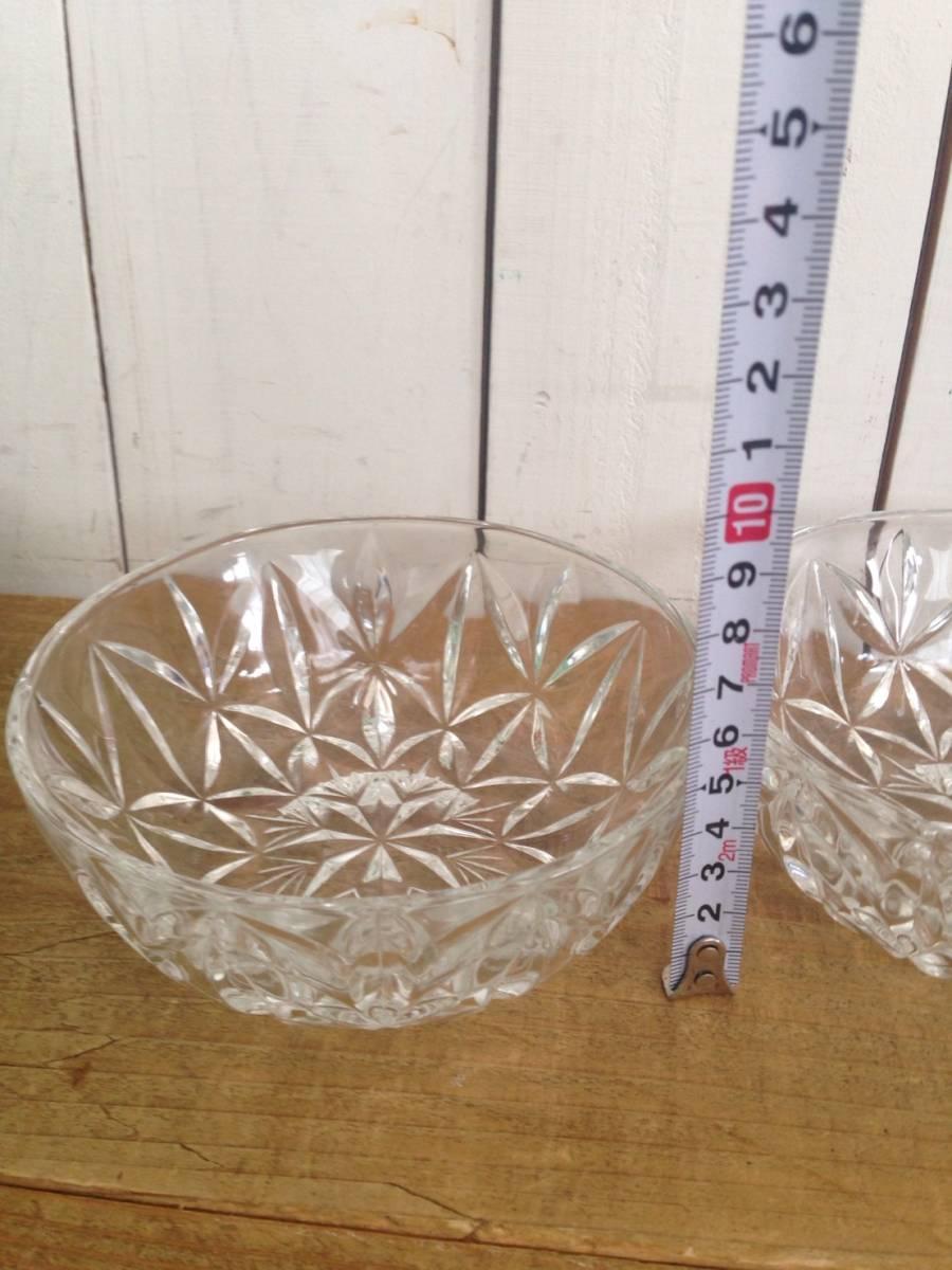 ガラス鉢セット DELUXE gift set TOYO GLASS ロワ向付鉢セット 品番#352-1 東洋ガラス株式会社 未使用品_画像7