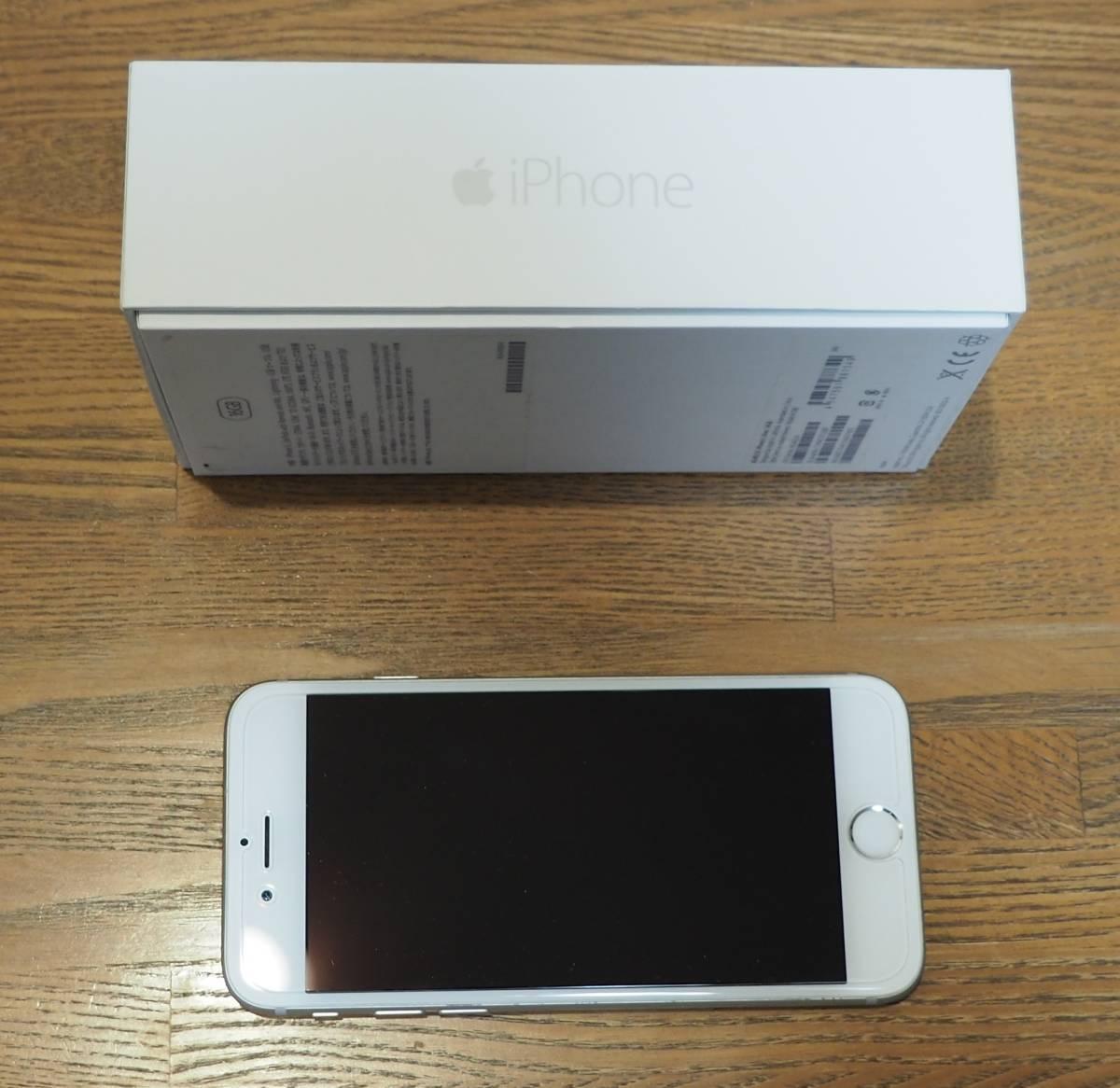 iPhone6 16GB シルバー Docomo/Docomo互換SIM用_画像3