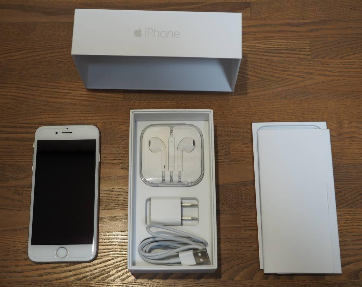 iPhone6 16GB シルバー Docomo/Docomo互換SIM用_画像2