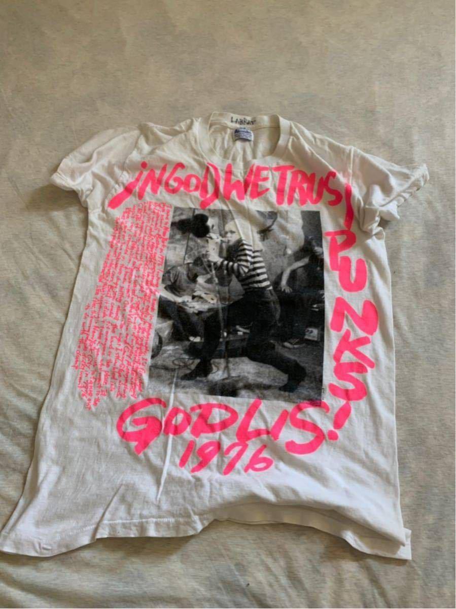 LABRAT ビンテージ Tシャツ ベース フォト プリント ブルース ウェーバー ウェバー Bruce Weber ブロンディ パンク ロック ラブラット_画像5