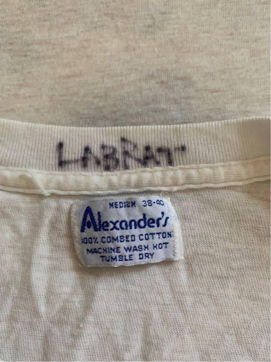 LABRAT ビンテージ Tシャツ ベース フォト プリント ブルース ウェーバー ウェバー Bruce Weber ブロンディ パンク ロック ラブラット_画像2