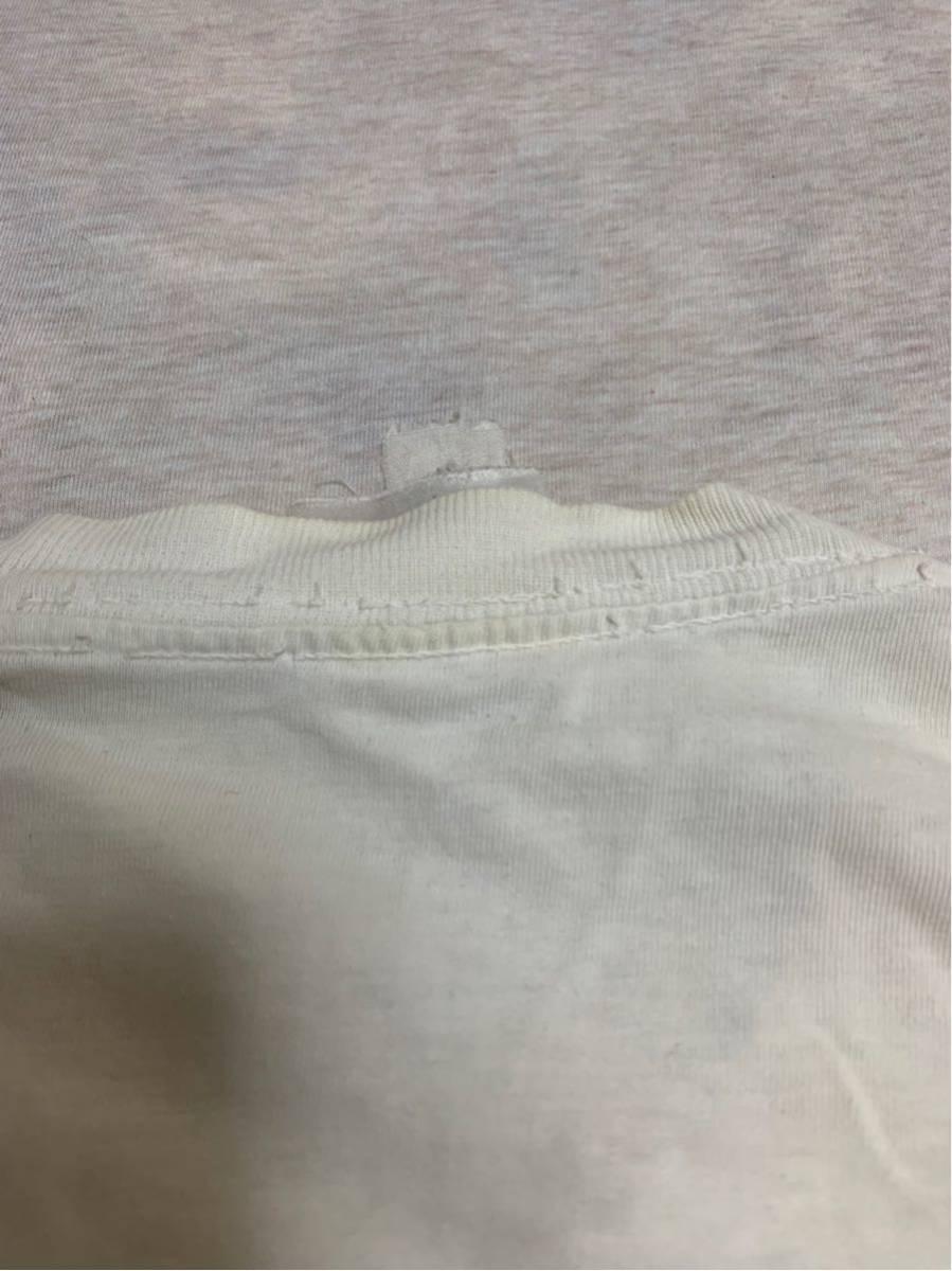 80's ビンテージ GUCCI グッチ Tシャツ オリジナル ヘインズ ブランド サンローラン YSL イブサンローラン _画像8