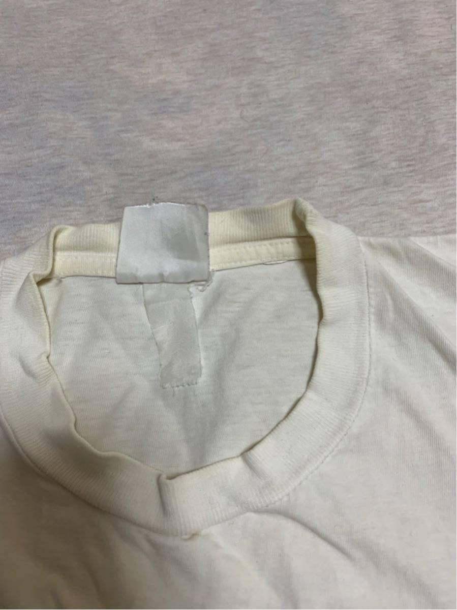 80's ビンテージ GUCCI グッチ Tシャツ オリジナル ヘインズ ブランド サンローラン YSL イブサンローラン _画像3