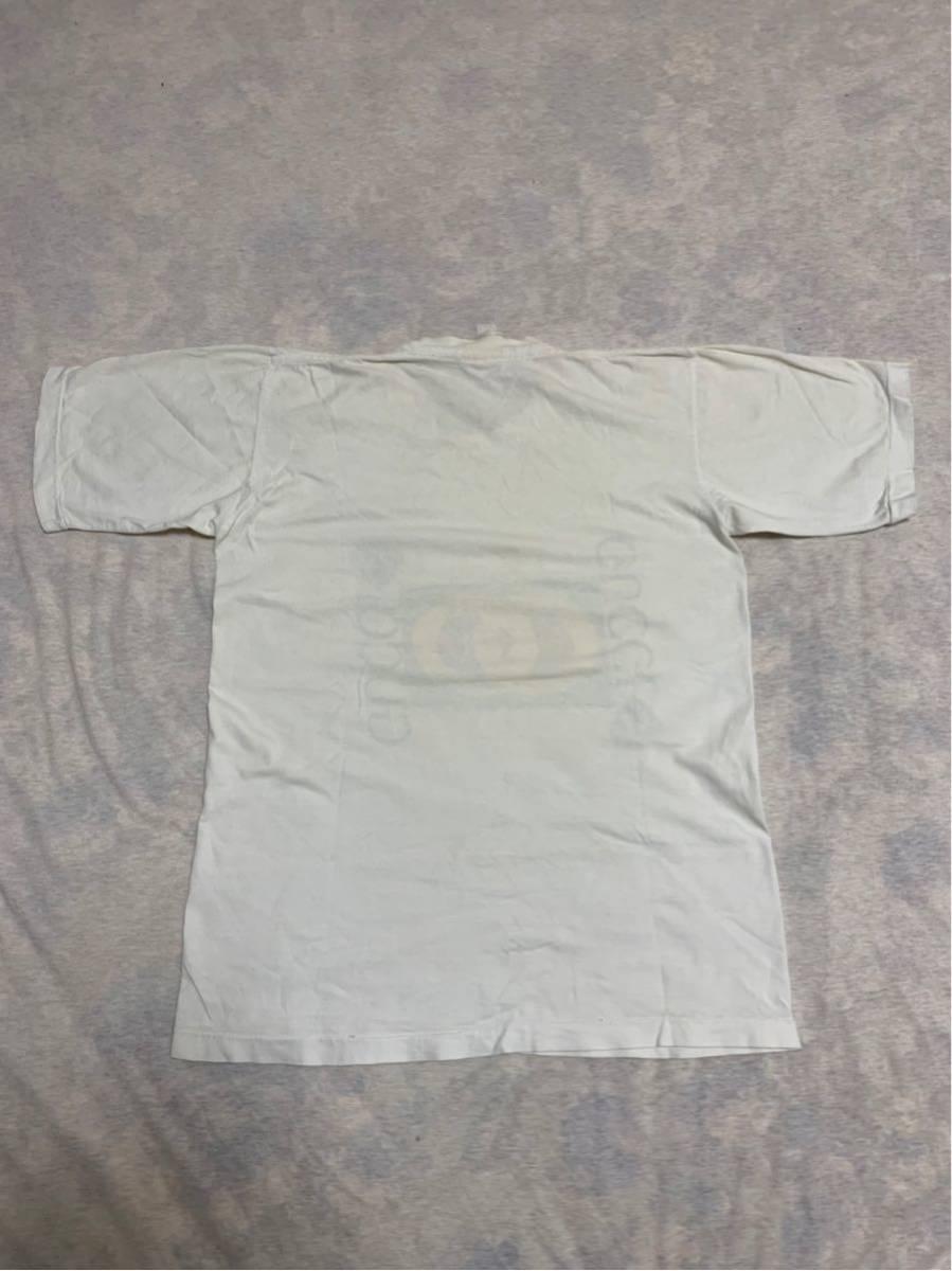 80's ビンテージ GUCCI グッチ Tシャツ オリジナル ヘインズ ブランド サンローラン YSL イブサンローラン _画像5