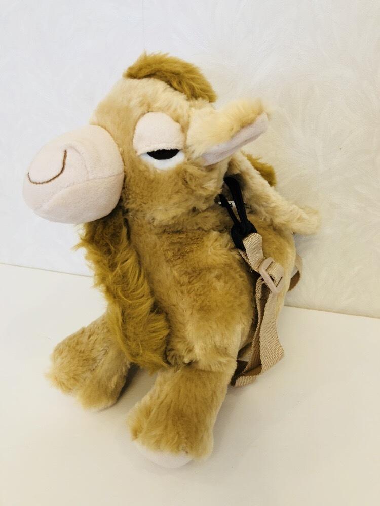 らくだ ラクダ ぬいぐるみ ショルダーバッグ キャメル 子供用ハンドバッグ_画像3
