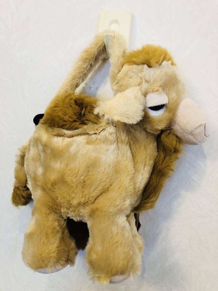 らくだ ラクダ ぬいぐるみ ショルダーバッグ キャメル 子供用ハンドバッグ_画像5