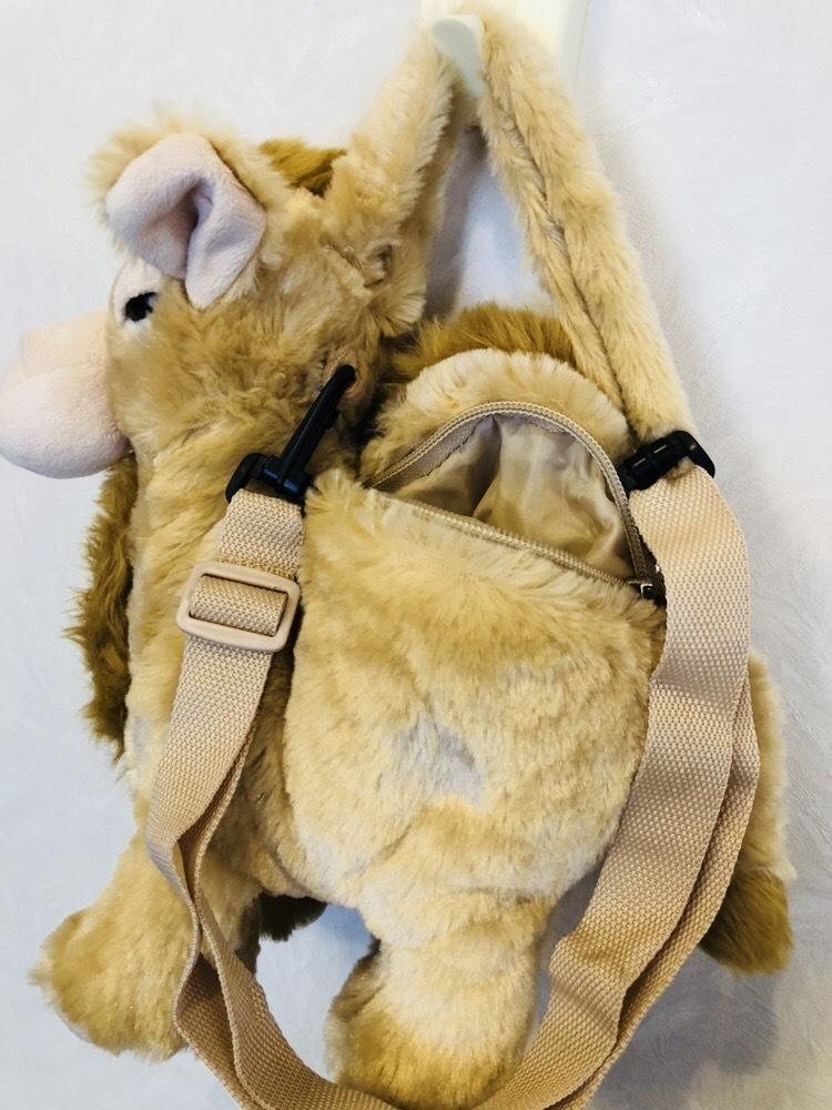 らくだ ラクダ ぬいぐるみ ショルダーバッグ キャメル 子供用ハンドバッグ_画像7