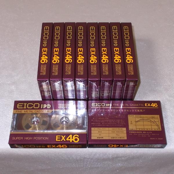 EICO 1PD オープンリール風ハイポジションテープ EX 46(メタル磁性体採用・新品×10)_画像2