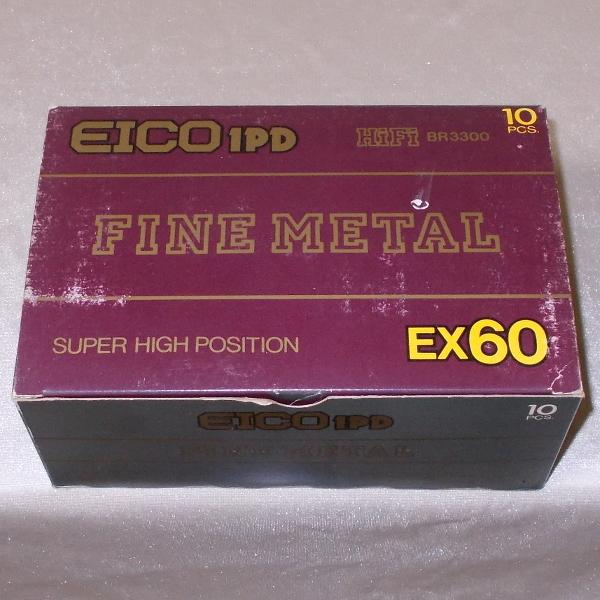 EICO 1PD オープンリール風ハイポジションテープ EX 60(メタル磁性体採用・新品×10)