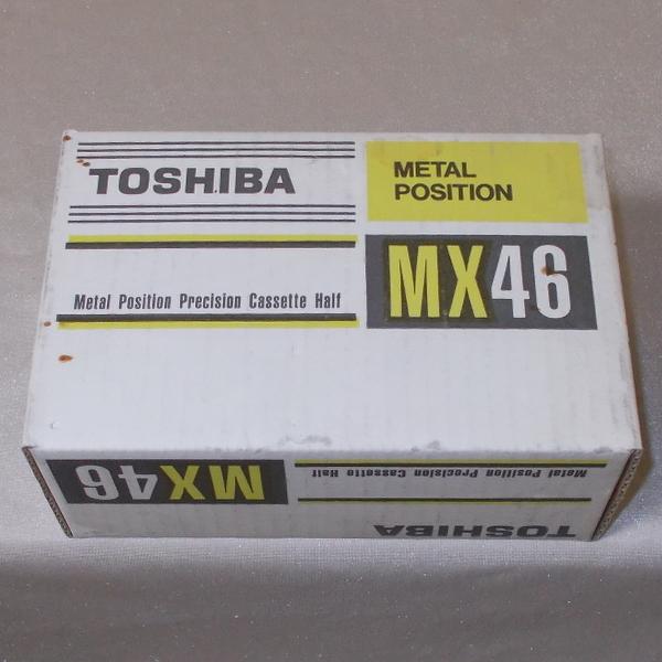 東芝 TOSHIBA メタルテープ MX 46(新品×10)_画像2