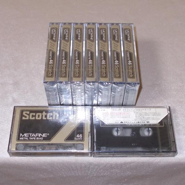 Scotch メタルテープ METAFINE MF C-46(新品×9)_画像2
