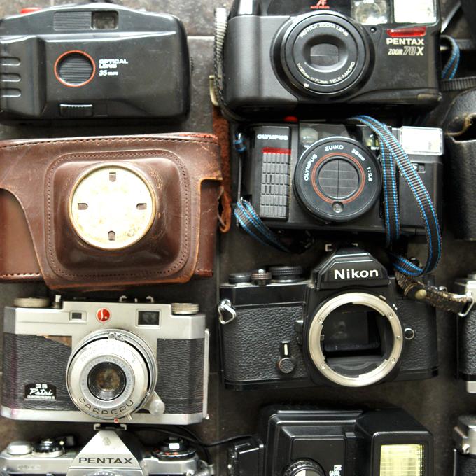 【フィルム一眼 コンパクトカメラ8台!+】Nikon FM KURIBAYASHI 35 Petri PENTAX ME KONICA AUTOREX minolta SR-1 等 ★まとめ売り!_画像5