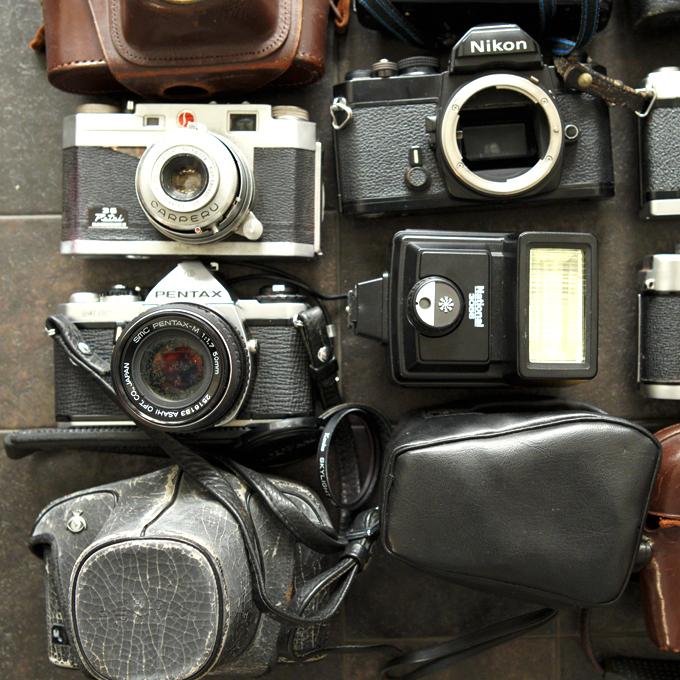 【フィルム一眼 コンパクトカメラ8台!+】Nikon FM KURIBAYASHI 35 Petri PENTAX ME KONICA AUTOREX minolta SR-1 等 ★まとめ売り!_画像4