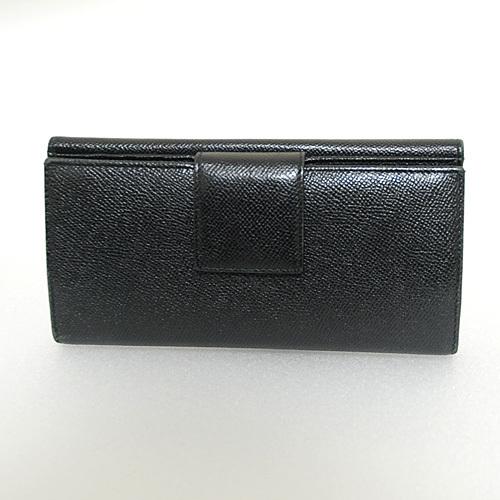 ブルガリ/財布/二つ折り/ブルガリブルガリ/ブラック カーフ/シルバー金具/長財布(6972)_画像2