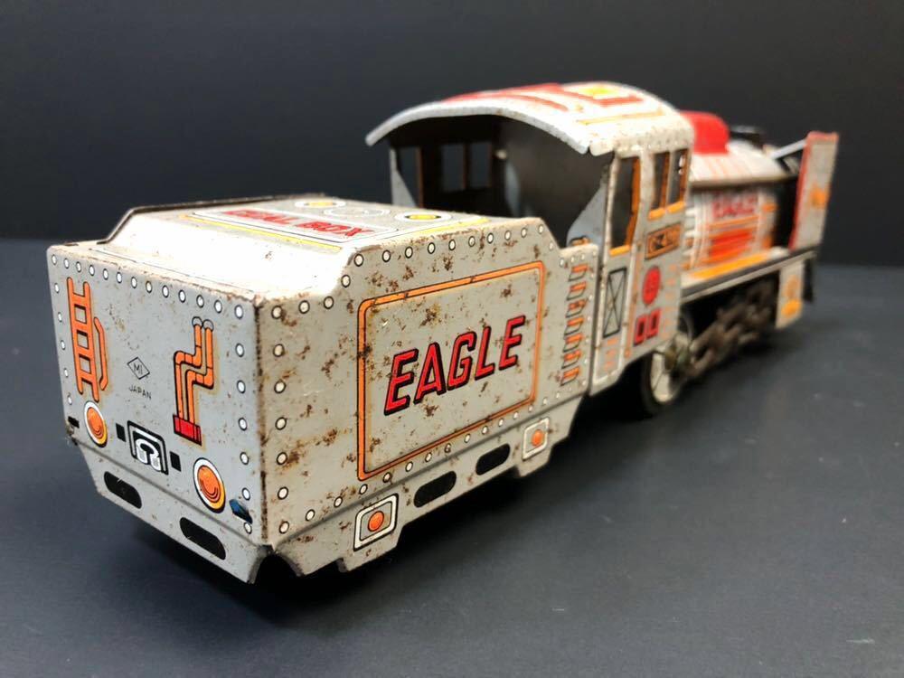 昭和レトロ ブリキ 蒸気機関車 EAGLE C-470 ブリキ製 電車 機関車 おもちゃ 玩具 日本製 当時物 ジャンク品_画像3