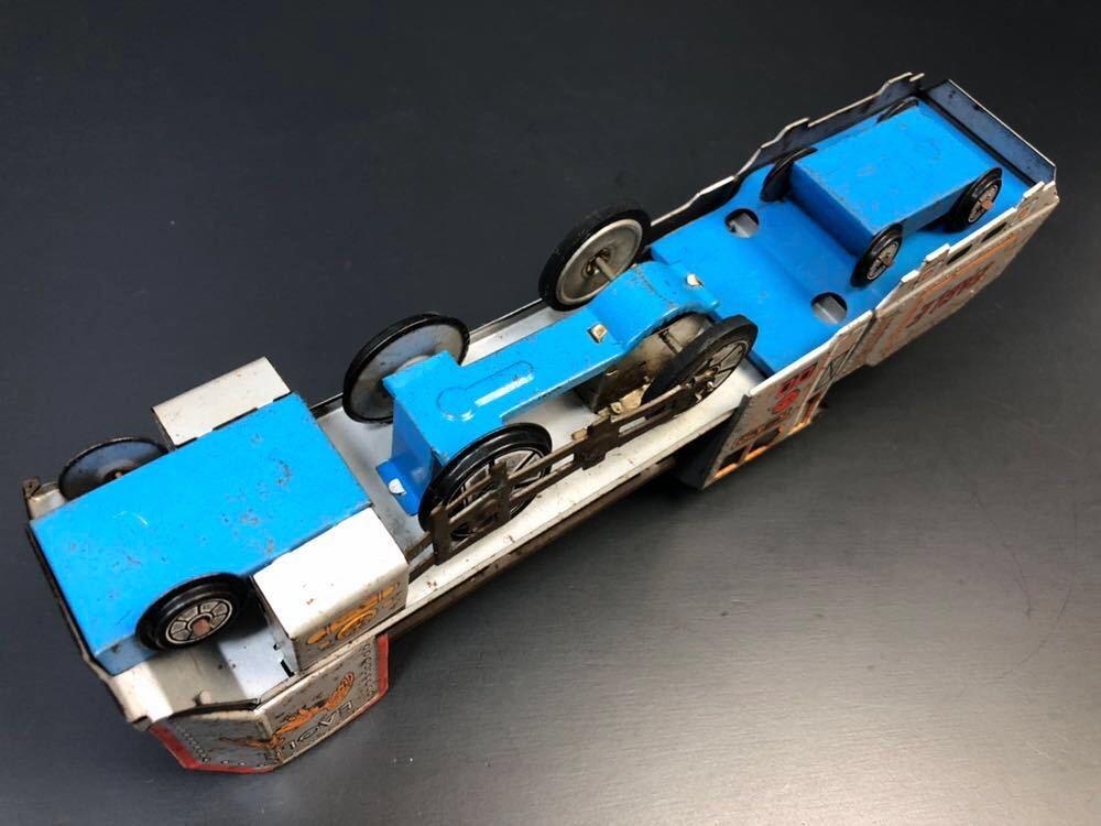 昭和レトロ ブリキ 蒸気機関車 EAGLE C-470 ブリキ製 電車 機関車 おもちゃ 玩具 日本製 当時物 ジャンク品_画像9