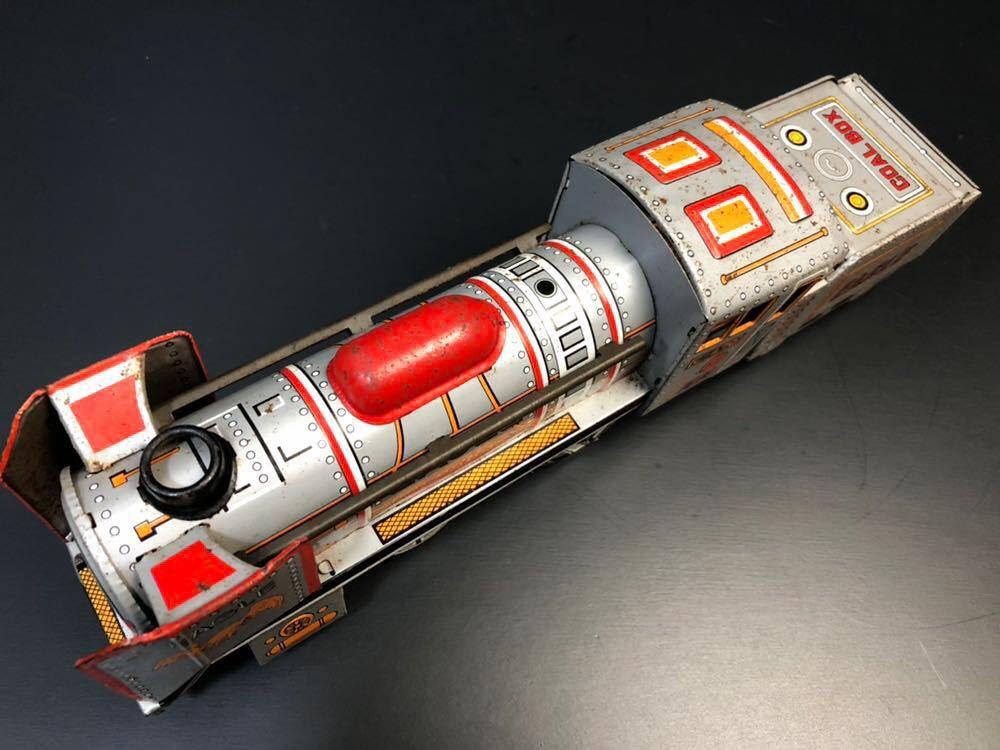 昭和レトロ ブリキ 蒸気機関車 EAGLE C-470 ブリキ製 電車 機関車 おもちゃ 玩具 日本製 当時物 ジャンク品_画像8