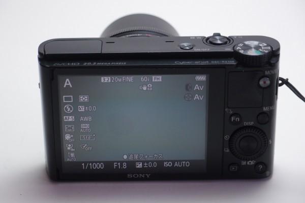 SONY DSC-RX100 1インチCMOSセンサー F1.8大口径レンズ搭載 光学3.6倍ズーム 2020万画素 デュアルノイズリダクション 送料無料_画像7