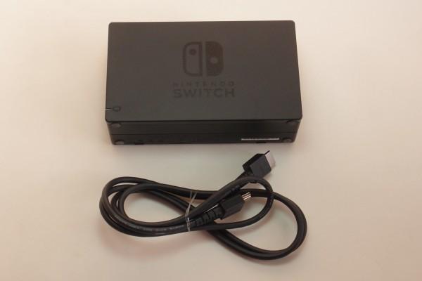 Nintendo Switch ドック 純正HDMIケーブル付き 送料無料