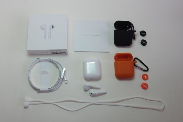 Apple AirPods iPhone iPad用アップル純正ワイヤレスイヤホン MMEF2J/A おまけ付き 左右独立 Bluetooth マイク付きイヤホン 送料無料
