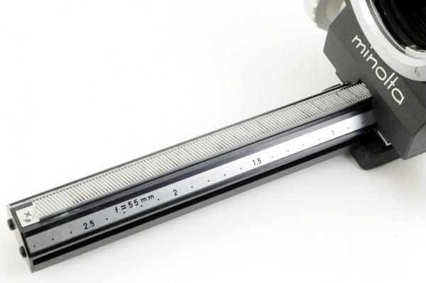 【極美品】Minolta BELLOWS III For ミノルタ SR/MC/MDマウント 接写、スライドのコピーなどに 蛇腹 ベローズ #3036_画像9